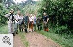 Nasza ekipa w czasie wycieczki po dżungli.