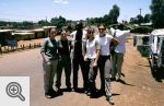 Inga, Maja, Rainus (nasz przewodnik na Mt Kenya), Asia i Monika.