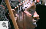 Wojownik masajski.