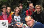 Nasza grupka na łodzi - Adrszpaskie Jeziorko